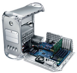 g4 mac case open
